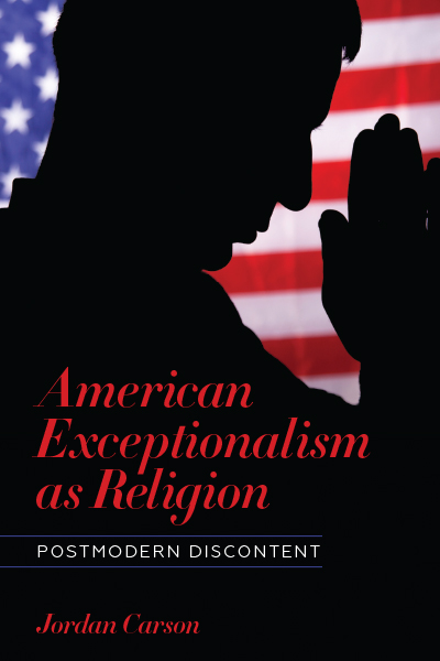 American Exceptionalism as Religion book cover