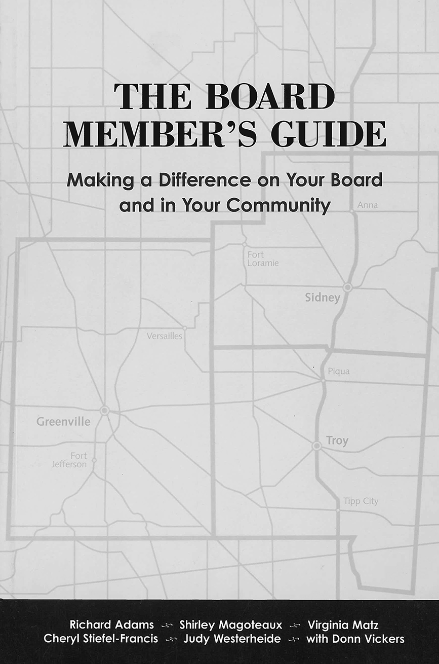 The Board Member's Guide book cover