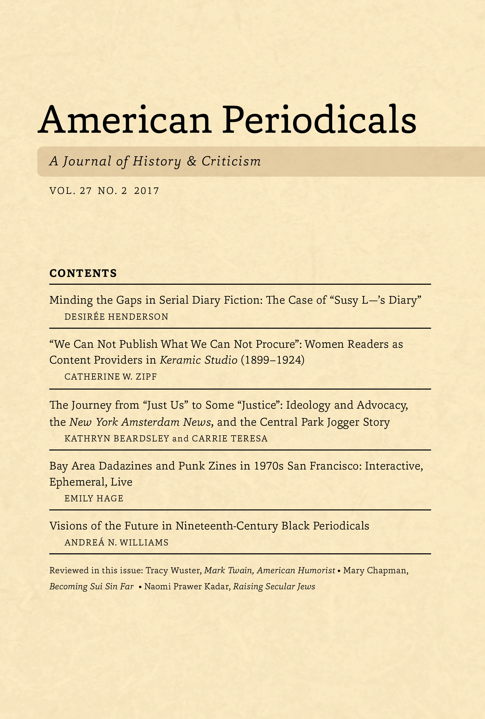 essays in periodicals Periodical articles are often the best sources to use in research report writing advantages timeliness : the chief advantage that magazines have over books is time.
