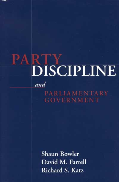 discipline vs democracy party discipline in canadian Maintenance vs discipline: a question of conscience most of the spankings in our relationship in the past few months have been maintenance our habit, therefore, has become to ignore anything that would require an actual, specific disciplinary response and focus on periodic, general-purpose.