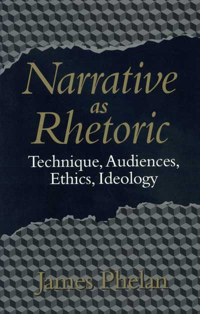 narrative rhetoric A narrative or story is a report of connected events, real or imaginary, presented in a sequence of written or spoken  along with exposition, argumentation, and description, narration, broadly defined, is one of four rhetorical modes of discourse more narrowly defined, it is the fiction-writing mode in which the narrator.